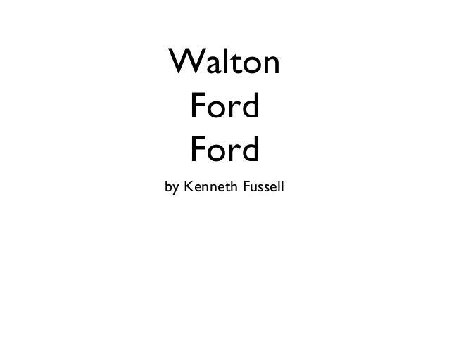 Walton Ford Ford by Kenneth Fussell