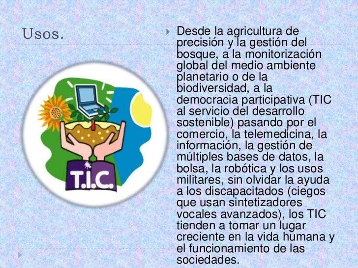 Usos.<br />Desde la agricultura de precisión y la gestión del bosque, a la monitorización global del medio ambiente planet...