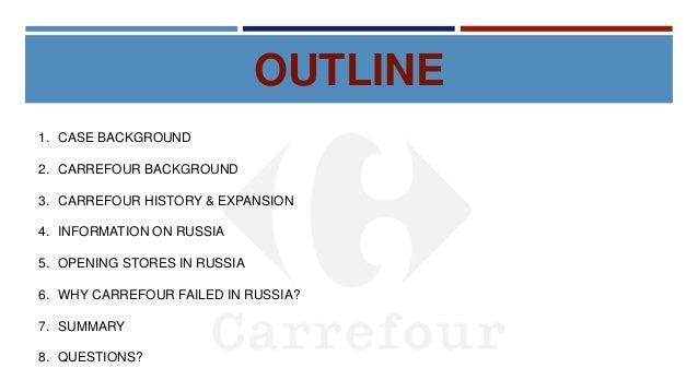 Carrefour Misadventure in Russia - Case Study Presentation Slide 2