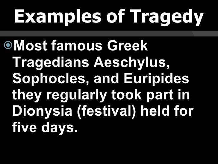 famous tragedies in literature