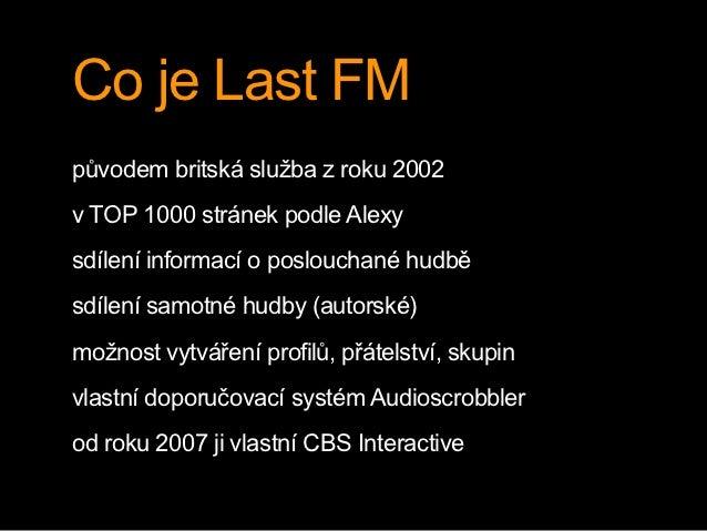 Last.fm Slide 3