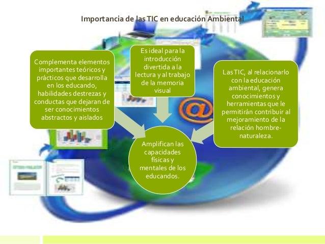Importancia de la educación ambiental Amplifican las capacidades físicas y mentales de los educandos. Complementa elemento...
