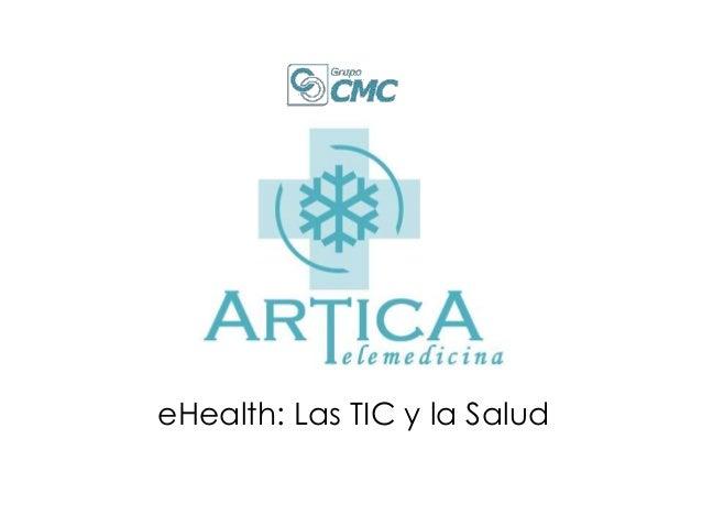 eHealth: Las TIC y la Salud