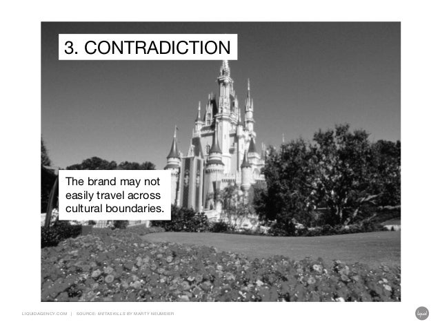 3. CONTRADICTION  The brand may not easily travel across cultural boundaries.  LIQUIDAGENCY.COM  |  SOURCE: ME TASKILLS BY...