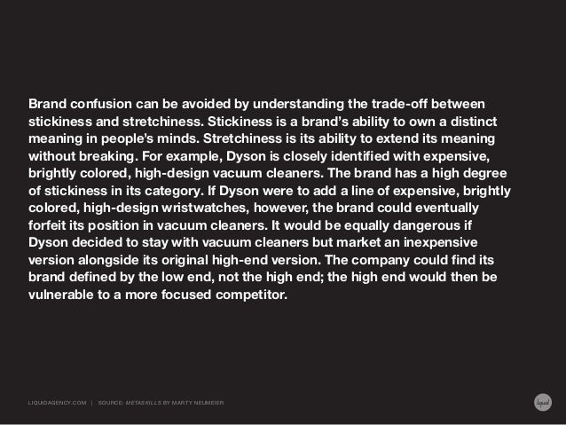 Brand confusion can be avoided by understanding the trade-off between stickiness and stretchiness. Stickiness is a brand's...