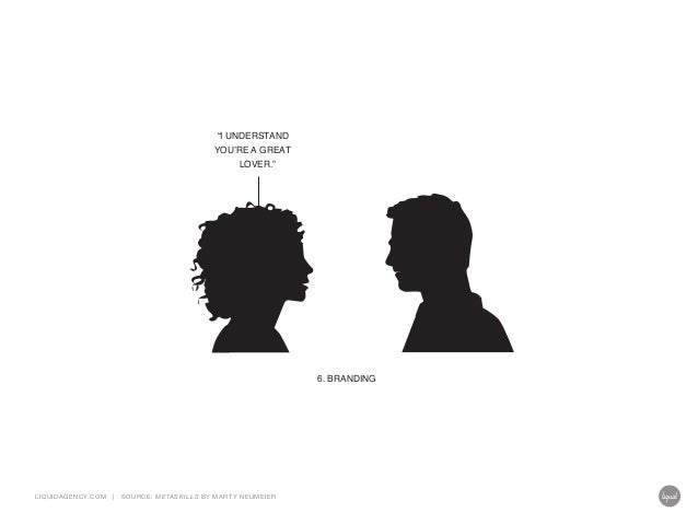 """""""I UNDERSTAND  YOU'RE A GREAT LOVER.""""  6. BRANDING  LIQUIDAGENCY.COM  