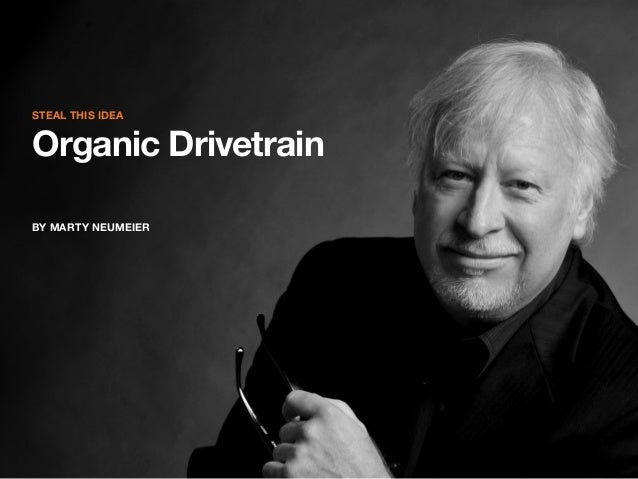 Steal this idea  Organic Drivetrain By marty neumeier