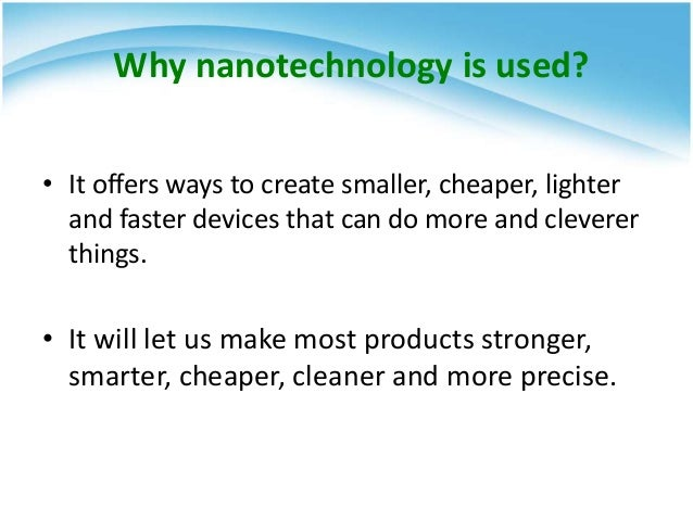 nanotechnology history Course description you've heard of einstein, marie curie, and newton, but who  really were the men and women behind physics' most famous discoveries.