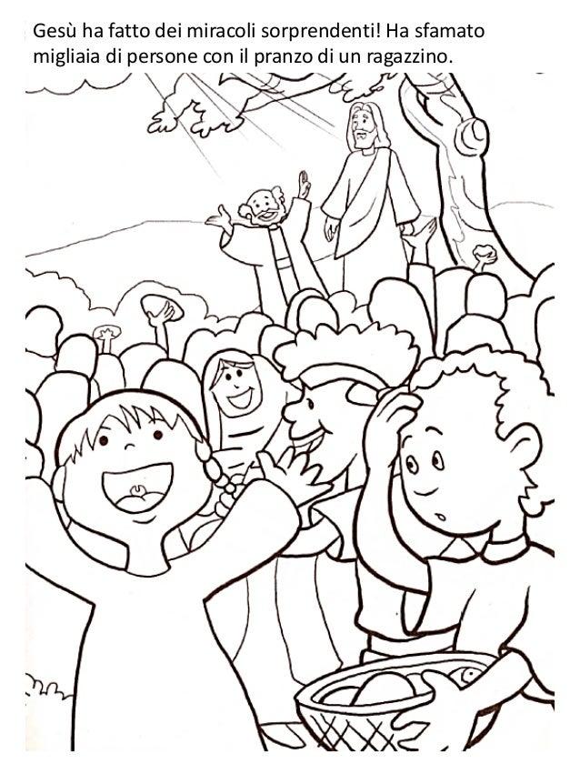 Gesù Con I Bambini Da Colorare