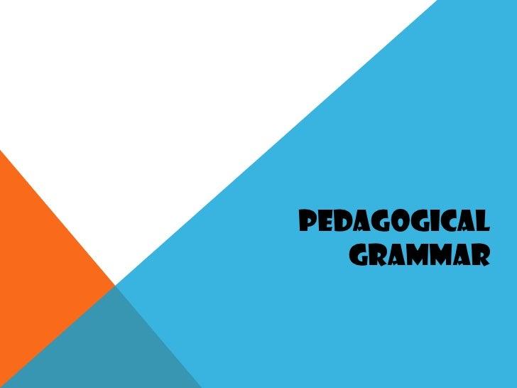 Pedagogical grammar pedagogical grammar 1 728gcb1332363710 ccuart Image collections