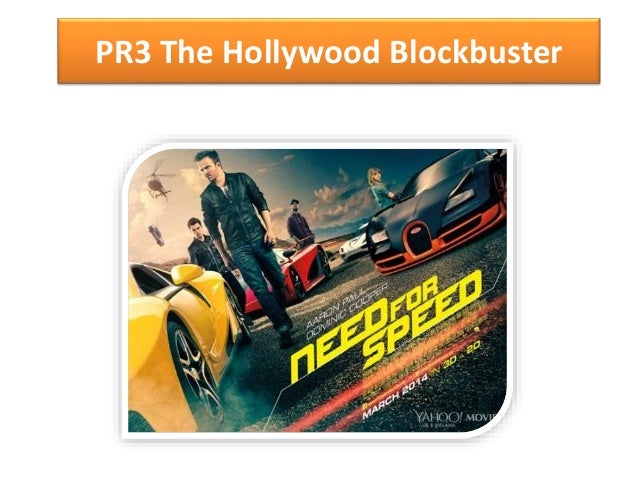 PR3 The Hollywood Blockbuster