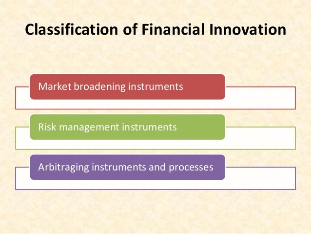 Microcredit a financial innovation