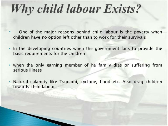 presentation on child labour also drag children towards child labour 4