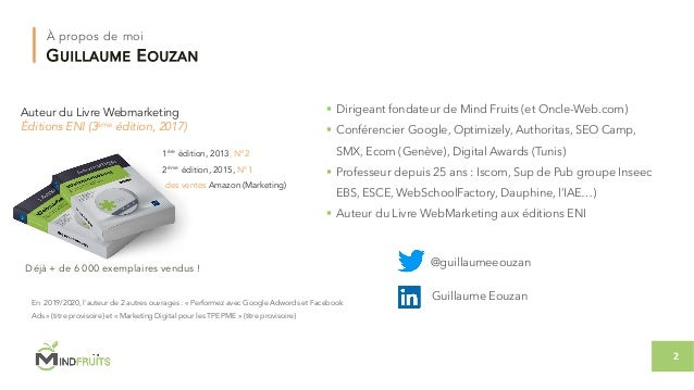 Conférence Les fondamentaux d'une bonne stratégie digitale créative Slide 2