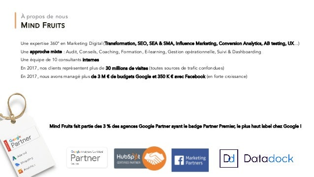 Conférence Les fondamentaux d'une bonne stratégie digitale créative Slide 3