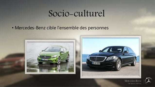 La strat gie marketing de mercedes benz for Mercedes benz marketing mix