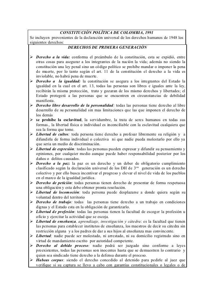 derechos humanos en colombia pdf