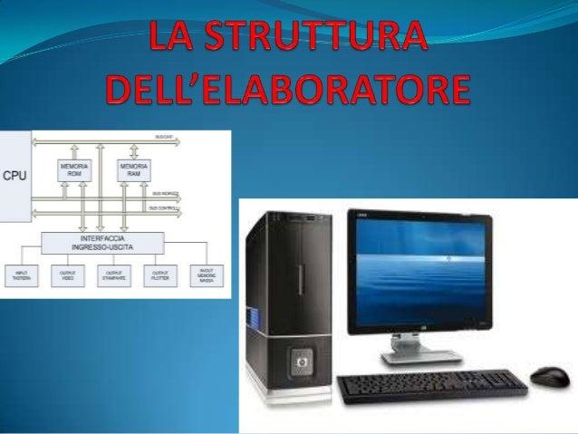 Il COMPUTER oELABORATORE è una macchina altamente organizzata capace di   immagazzinare,elaborare e trasmettere   dati con...