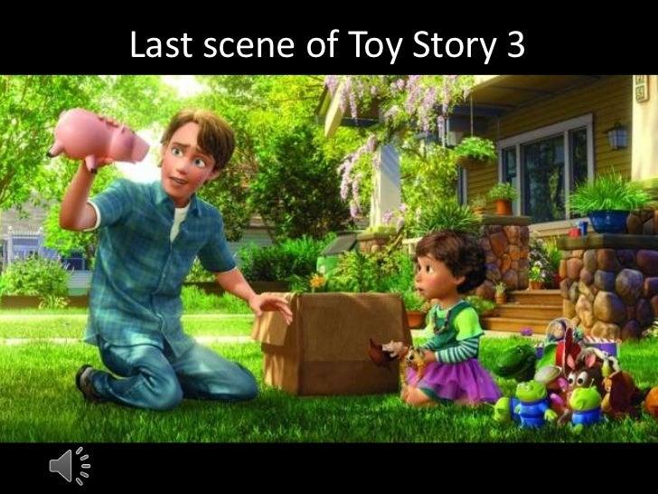Last scene of toy story 3