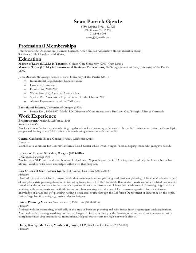 Last updated resume