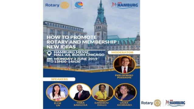 How to Promote Rotary and Membership: New Ideas Slide 3