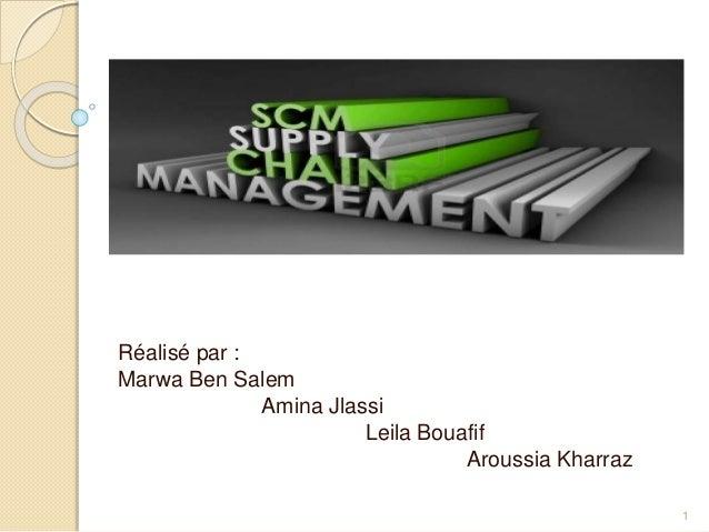 Réalisé par :  Marwa Ben Salem  Amina Jlassi  Leila Bouafif  Aroussia Kharraz  1