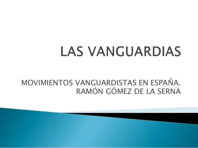 Las vanguardias for Tecnicas vanguardistas