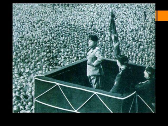 El fascismo italianoLa recuperación de la posguerra en Europa esmuy problemática.El triunfo de la revolución socialista ...
