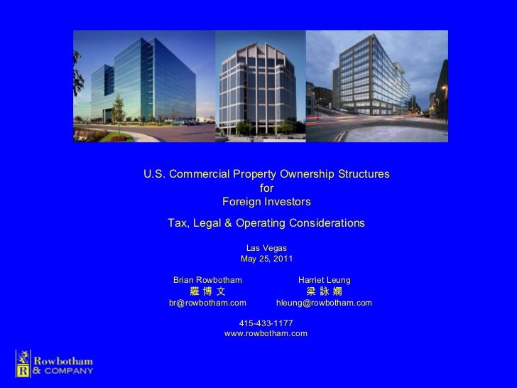 Commercial Property Ownership Tax Benefits