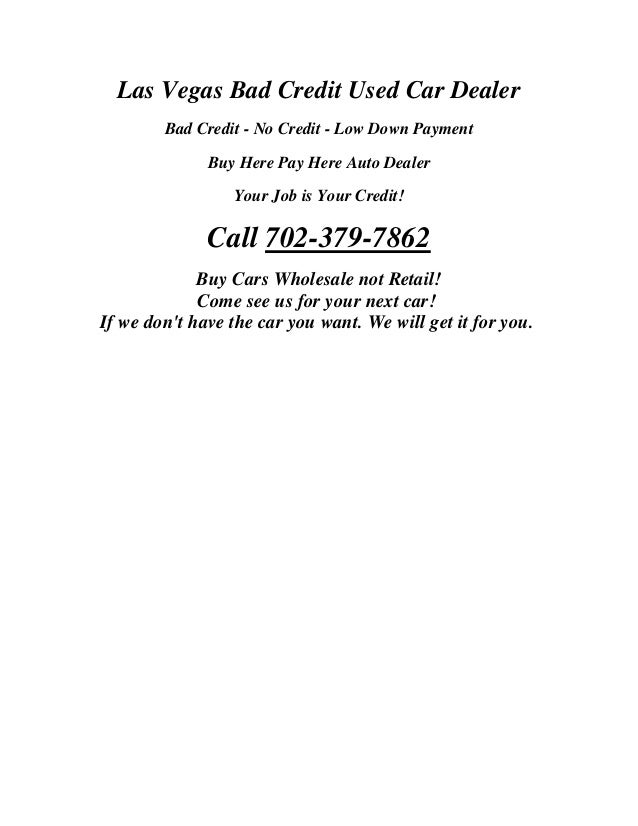 Down Bad Credit Used Cars Los Angeles