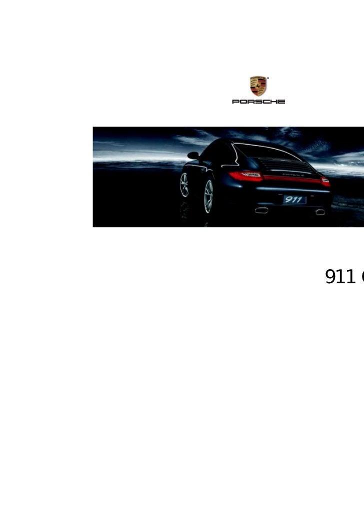 ®    911 Carrera         Owner's Manual