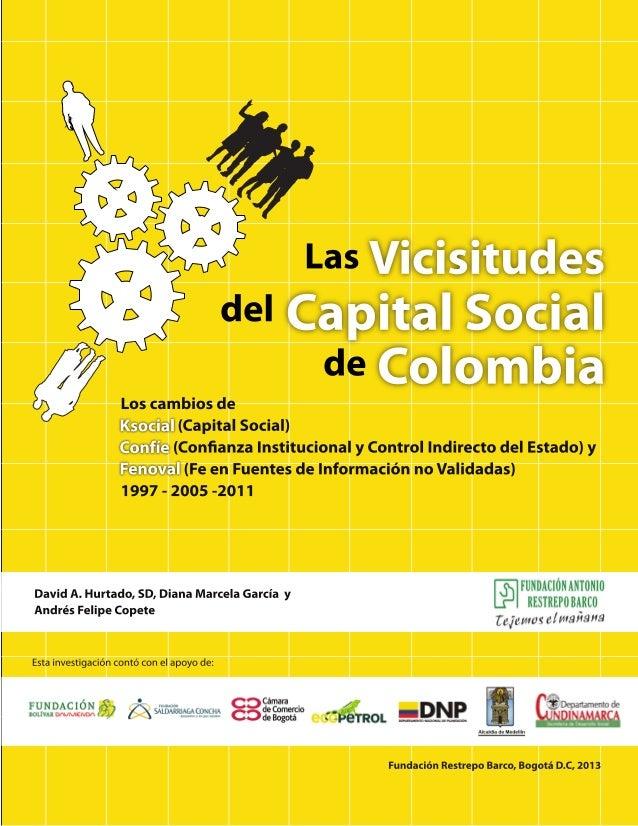 del  Las  de  Ksocial  Confíe  Fenoval  Vicisitudes  Colombia  Capital Social