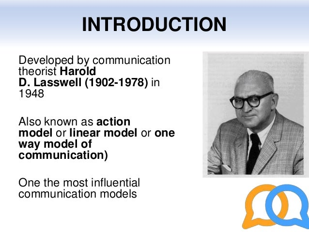 Lasswell model of commication lasswells model of communication 2 ccuart Choice Image