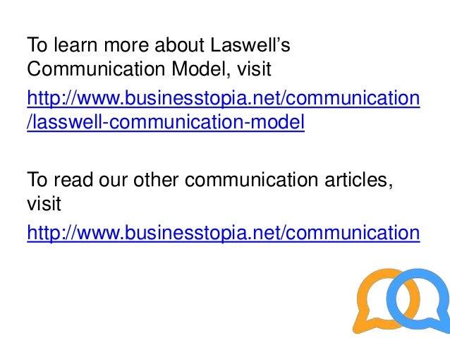 lasswell model communication