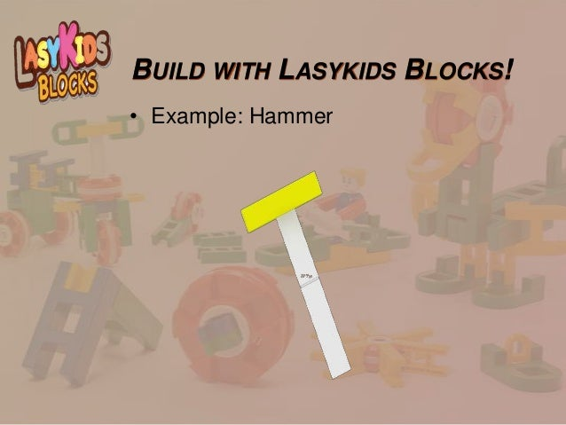 Great Educational Toys : Lasykids blocks the great educational toy