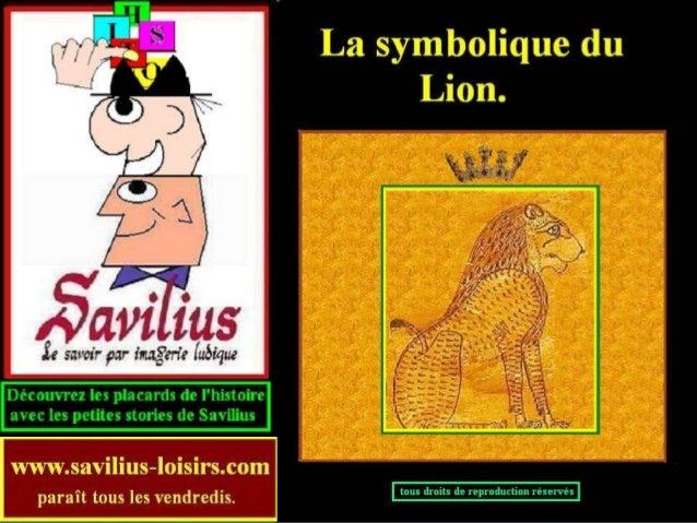 La symbolique du lion