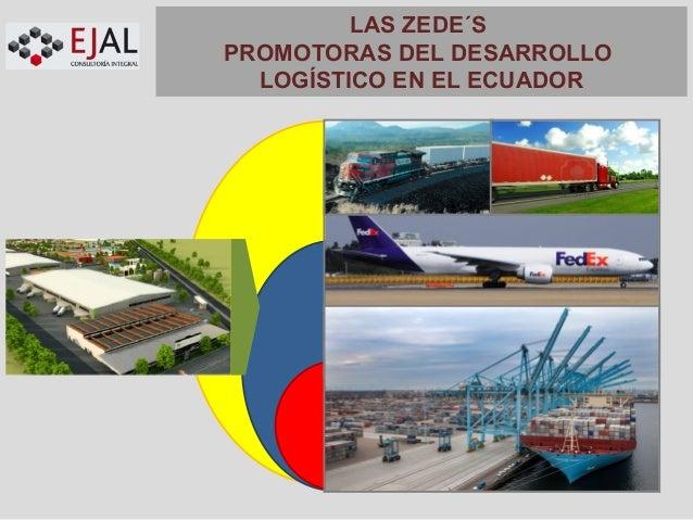 LAS ZEDE´S PROMOTORAS DEL DESARROLLO LOGÍSTICO EN EL ECUADOR