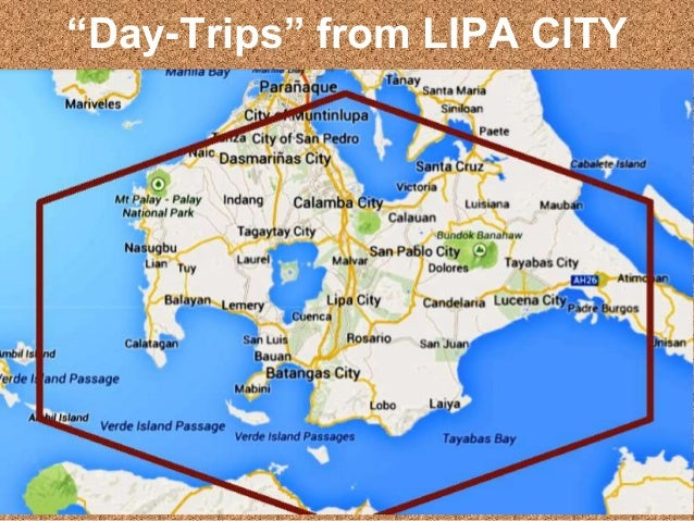 """""""Day-Trips"""" from LIPA CITY"""