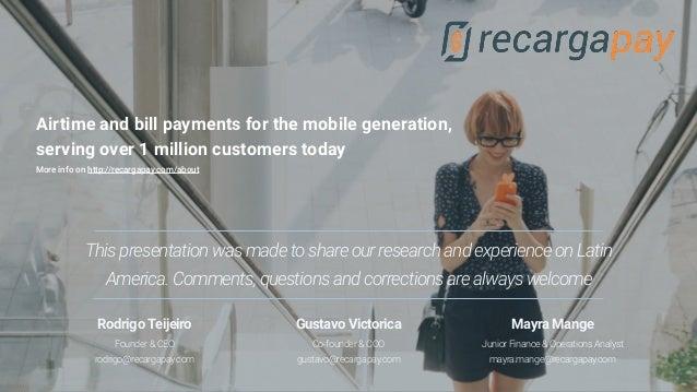 Latam 2020 - Internet & Mobile Market Slide 2
