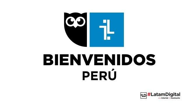 LD BIENVENIDOS PERÚ