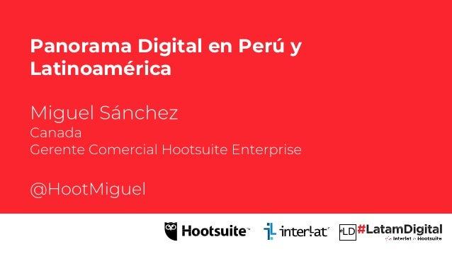 LD Panorama Digital en Per� y Latinoam�rica