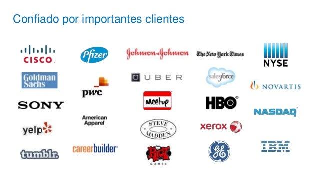 Confiado por importantes clientes