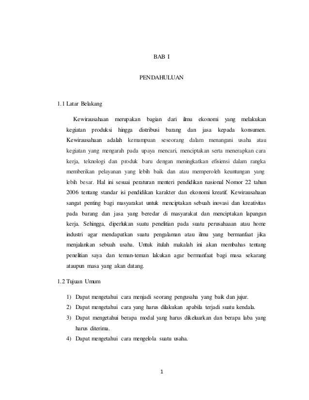 Laporan Hasil Pelaksanaan Studi Lapangan Ke Home Industri Keripik Ape