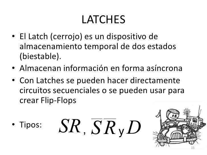 Latches y flip flops