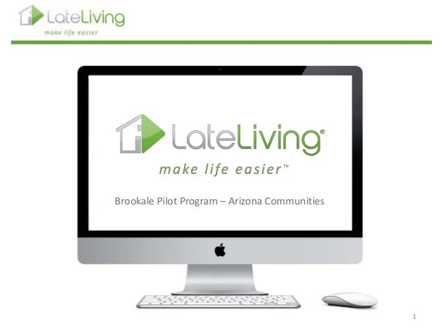 1 Brookale Pilot Program – Arizona Communities