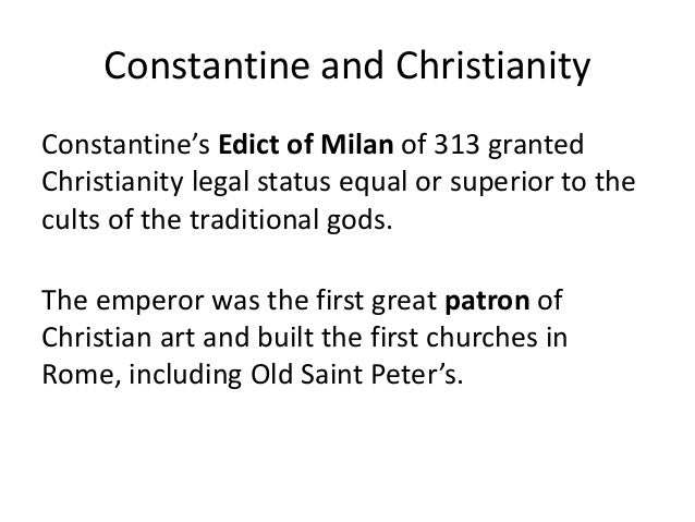 Constantine the Great and Christianity