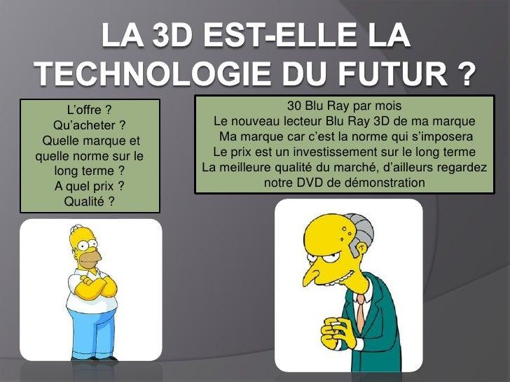 La technologie 3d - Est ce qu un lecteur blu ray lit les dvd ...