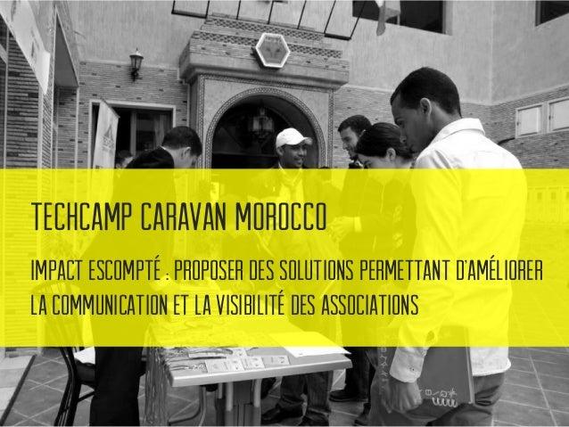 TechCamp Caravan Morocco Des outils incontournables pour améliorer leur travail au quotidien