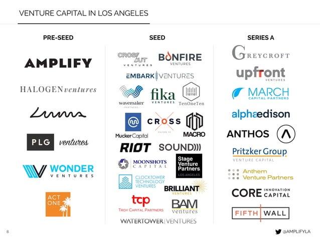 8 VENTURE CAPITAL IN LOS ANGELES PRE-SEED SEED SERIES A @AMPLIFYLA ventures