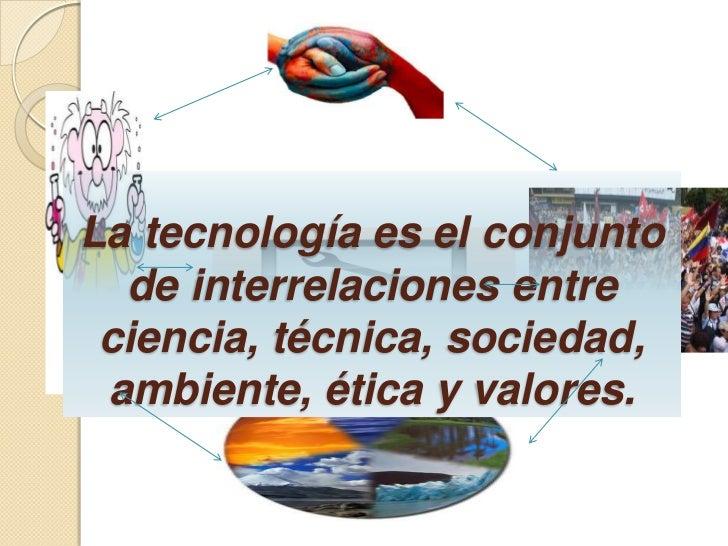 La tecnología Slide 3